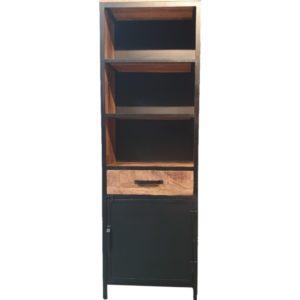 Lizzy Boekenkast (1 deur) (65x37x200)