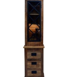 Vitrinekast Nora (55x45x220)