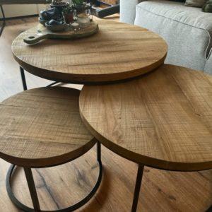 Fugees Salontafel Set van 3 tafels